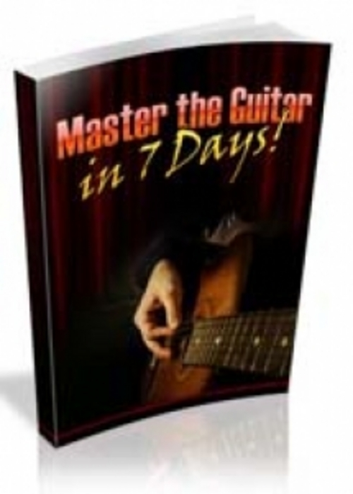 Product picture NEW! Master The Guitar In 7 Days with PLR