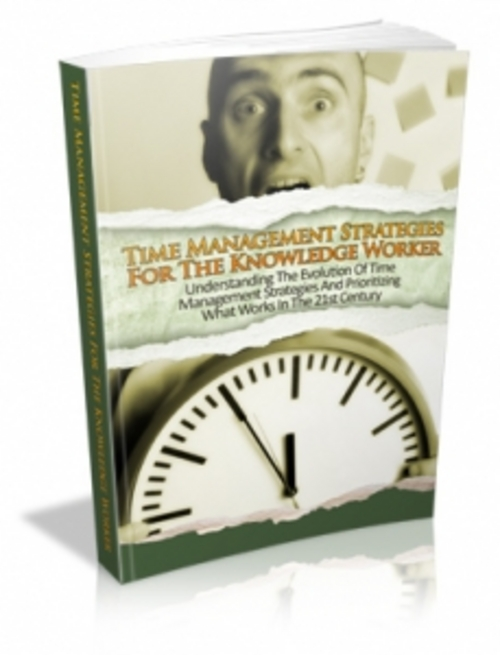 Product picture NEW ! Time Management Mastery Busy People with MRR