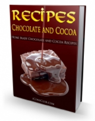 Product picture NEW ! Chocolate And Cocoa Recipes with PLR