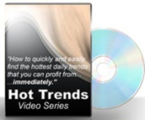 Product picture Hot Trends Video Series with PLR