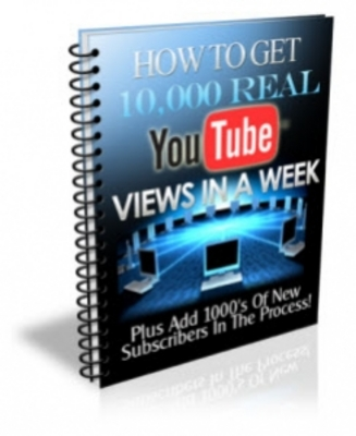 Product picture Get 10000 Views On YouTube with PLR