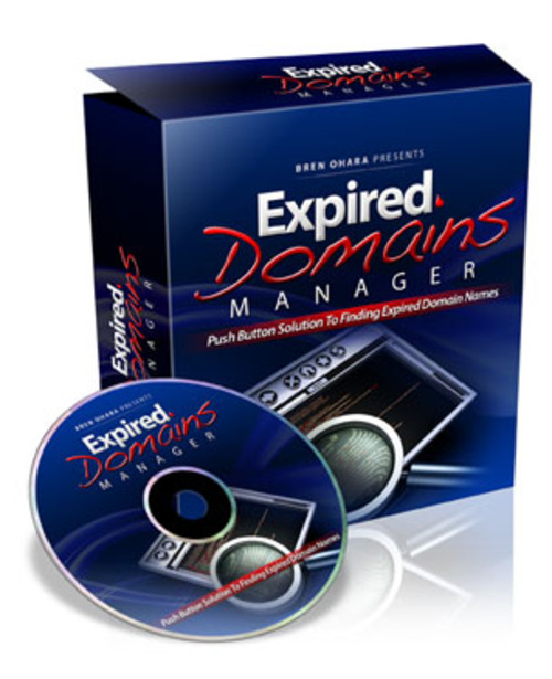 Product picture  Expired Domains Manager