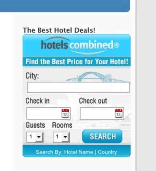 Product picture HotelsCombined Search WP Widget