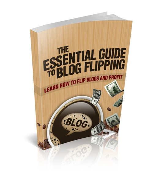 Product picture Essential Guide To Blog Flipping